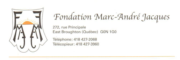 Fondation Marc-Andre Jacques